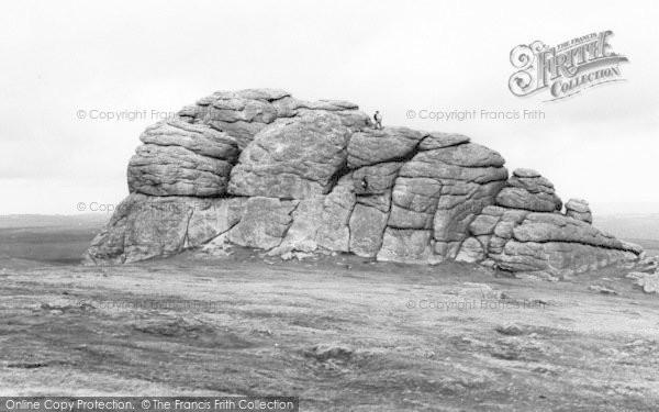 Photo of Widecombe In The Moor, Hay Tor c.1960