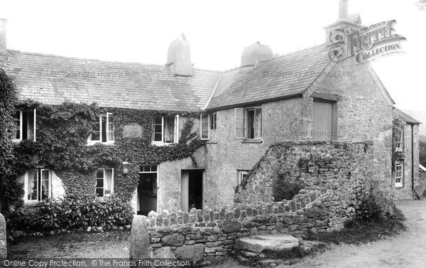 Photo of Widecombe In The Moor, Old Inn 1907