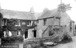 Widecombe In The Moor, Old Inn 1907