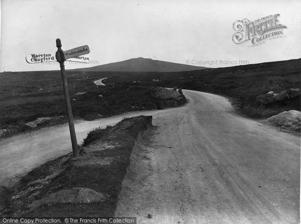 Photo of Widecombe In The Moor, Over The Moors, From Widecombe To Haytor 1927