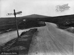 Over The Moors, From Widecombe To Haytor 1927, Widecombe In The Moor