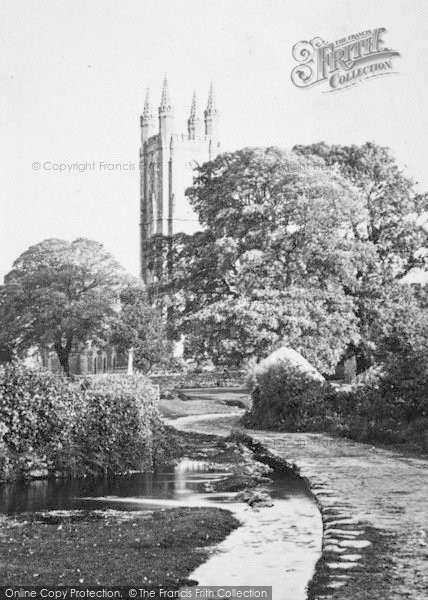 Photo of Widecombe In The Moor, St Pancras' Church c.1871