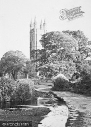 Widecombe In The Moor, St Pancras' Church c.1871