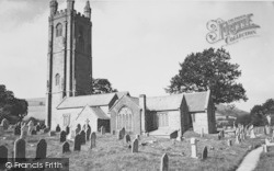 The Church c.1955, Widecombe In The Moor
