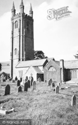 Widecombe In The Moor, The Church c.1955