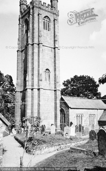Photo of Widecombe In The Moor, The Church c.1955