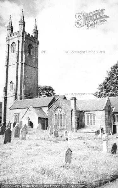 Photo of Widecombe In The Moor, The Church c.1960