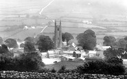 Widecombe-In-The-Moor, the Church of St Pancras and the Village 1927