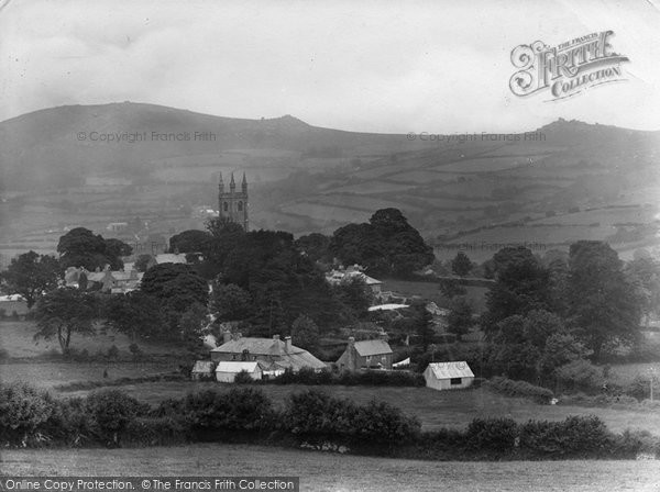 Photo of Widecombe In The Moor, The Church Of St Pancras And The Village 1927