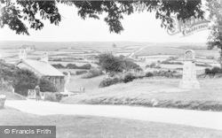 Widecombe In The Moor, The Green c.1955