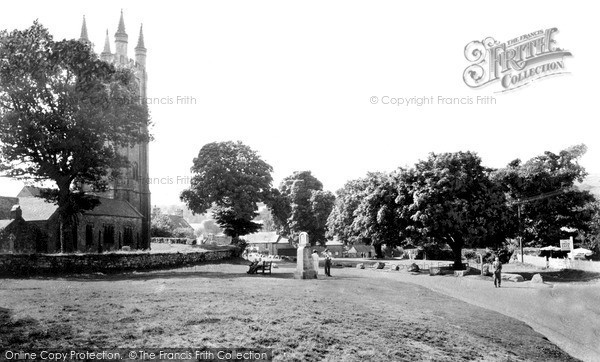 Photo of Widecombe In The Moor, The Green c.1955