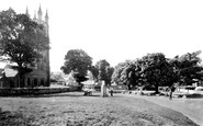 Widecombe-In-The-Moor, the Green c1960