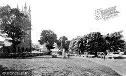 The Green c.1955, Widecombe In The Moor