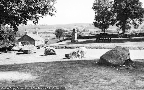 Photo of Widecombe In The Moor, The Green c.1960