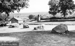Widecombe In The Moor, The Green c.1960