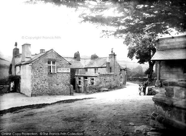 Photo of Widecombe In The Moor, The Old Inn 1922