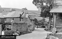 Widecombe In The Moor, The Old Inn c.1955