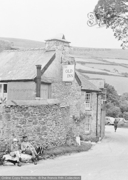 Photo of Widecombe In The Moor, The Old Inn c.1955
