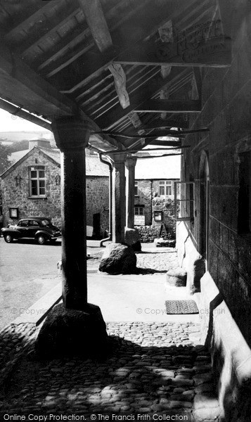 Photo of Widecombe In The Moor, The Pantiles c.1960