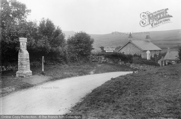 Photo of Widecombe In The Moor, The Village 1922