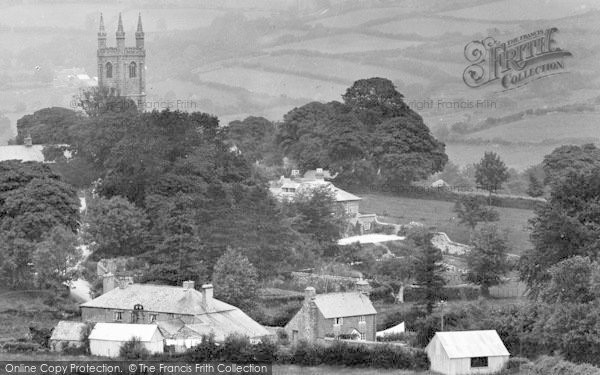 Photo of Widecombe In The Moor, The Village 1927