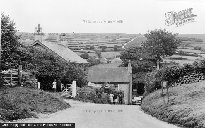 Photo of Widecombe In The Moor, The Village c.1955