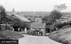 Widecombe In The Moor, The Village c.1955