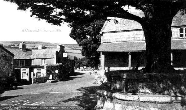 Widecombe-In-The-Moor, the Village c1960