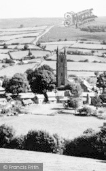 Widecombe In The Moor, The Village c.1960