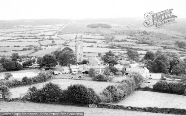 Photo of Widecombe In The Moor, The Village c.1960