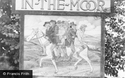 Widecombe In The Moor, The Village Sign 1922