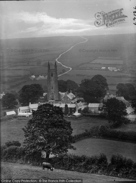 Photo of Widecombe In The Moor, Village 1922