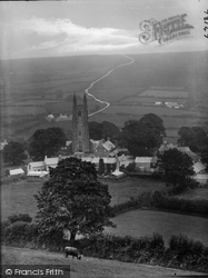 Widecombe In The Moor, Village 1922