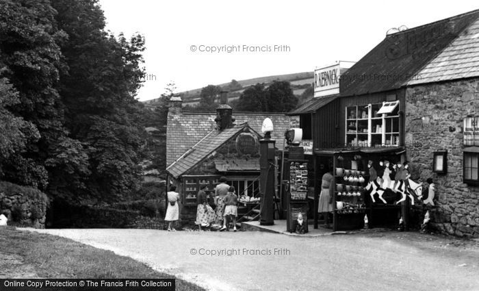 Photo of Widecombe In The Moor, Ye Old Forge c.1955