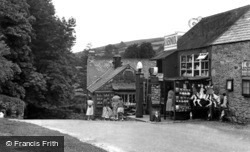 Widecombe In The Moor, Ye Old Forge c.1955