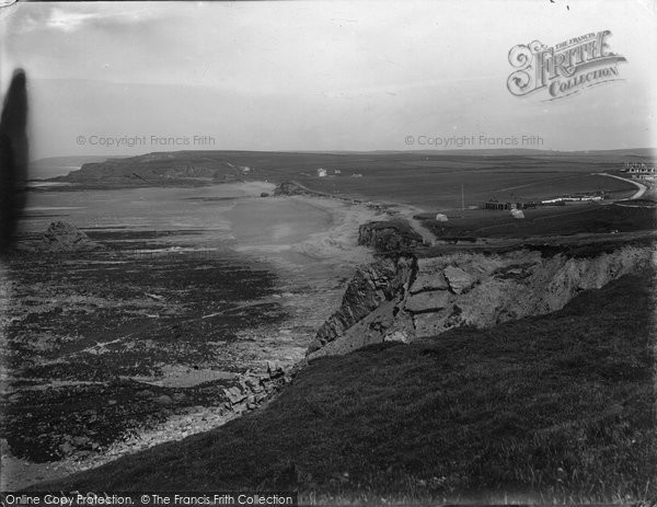 Photo of Widemouth Bay, 1920