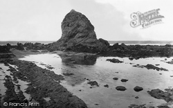 Widemouth Bay, Black Rock 1920