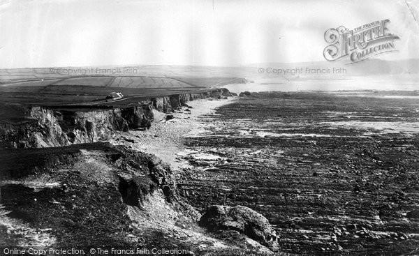 Photo of Widemouth Bay, c.1871