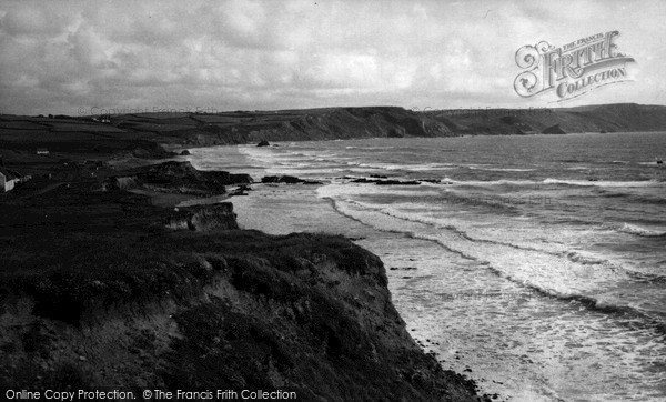 Photo of Widemouth Bay, The Bay c.1955