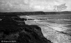 Widemouth Bay, The Bay c.1955