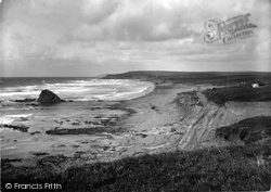 Widemouth Bay, The Beach 1929