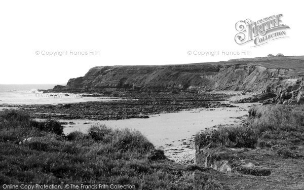 Photo of Widemouth Bay, The Cliffs c.1955