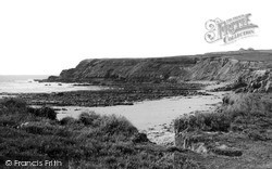 Widemouth Bay, The Cliffs c.1955