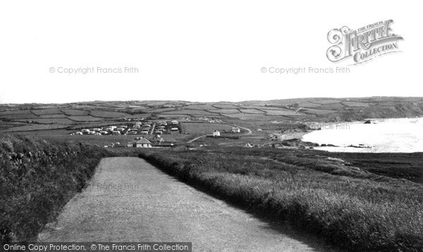 Photo of Widemouth Bay, The Village And Bay c.1955