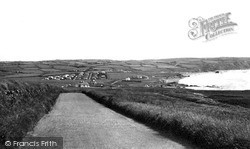 Widemouth Bay, The Village And Bay c.1955
