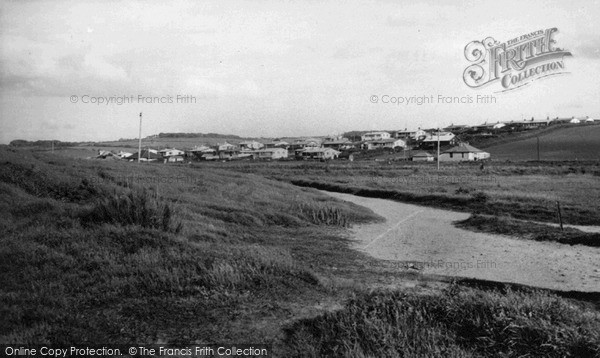 Photo of Widemouth Bay, The Village c.1955