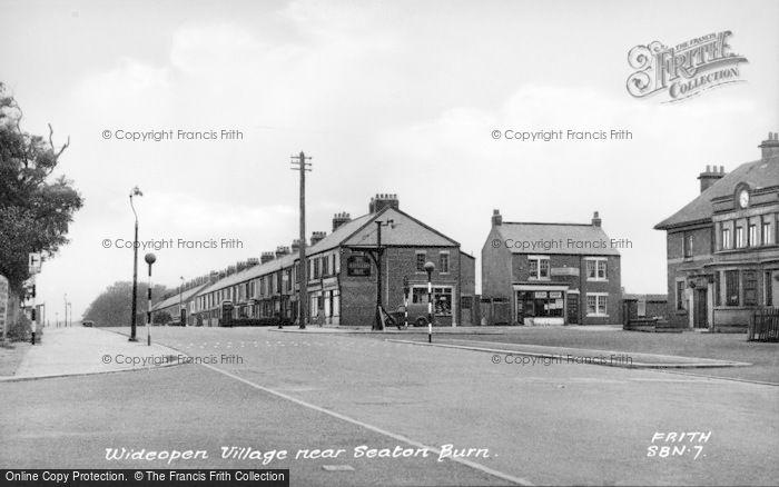 Photo of Wideopen, Village c.1955