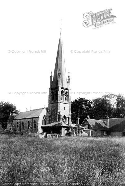 Widford, the Church 1898.  (Neg. 41509)  © Copyright The Francis Frith Collection 2005. http://www.frithphotos.com
