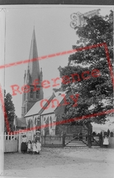 St Mary's Church 1906, Widford