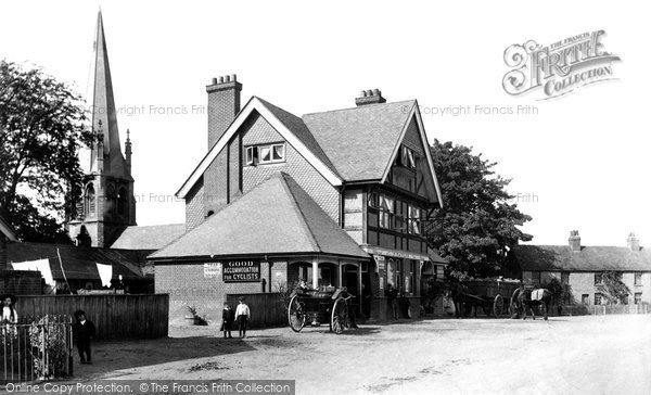 Photo of Widford, The White Horse 1906